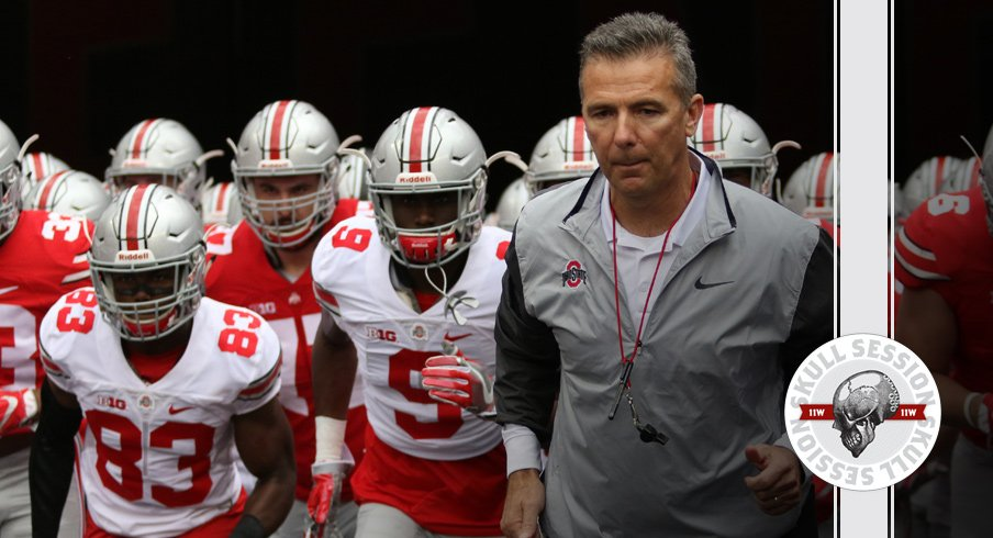 URBAN MEYER AND THE GANG FOR THE 2018 SKULL SESSION