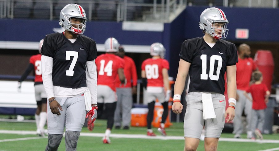 Joe Burrow and Dwayne Haskins are ready for the second edition of the duel.