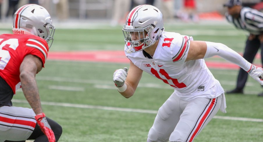 Film Study What We Learned From The 2018 Ohio State Spring Game