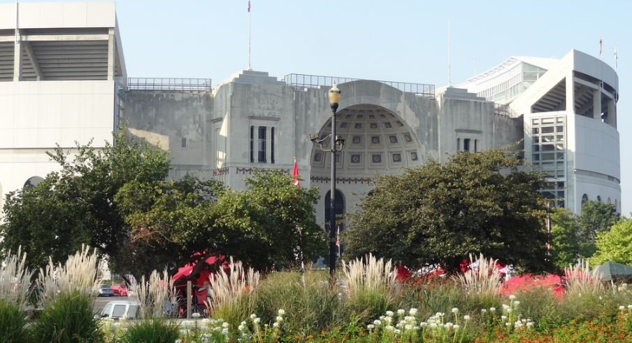 Ohio Stadium, home of the Buckeyes