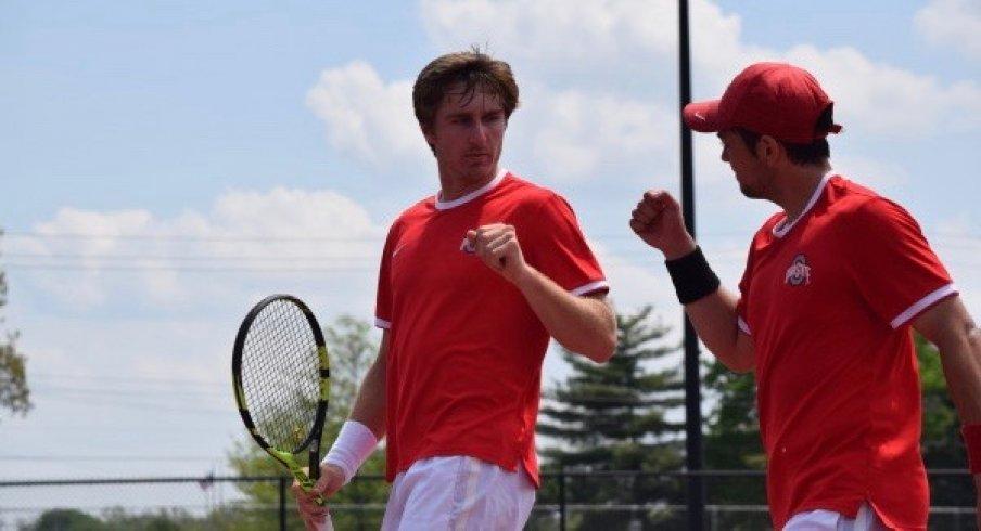 Men's Tennis Advances