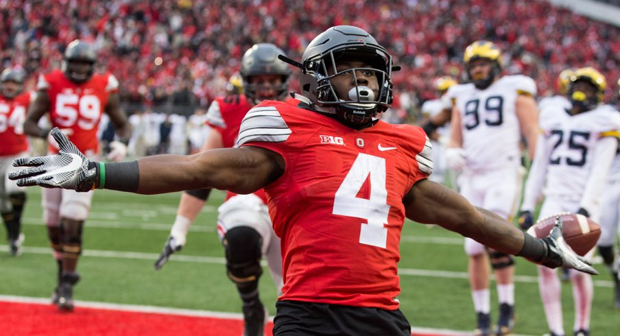 Curtis Samuel ended Michigan in 2016