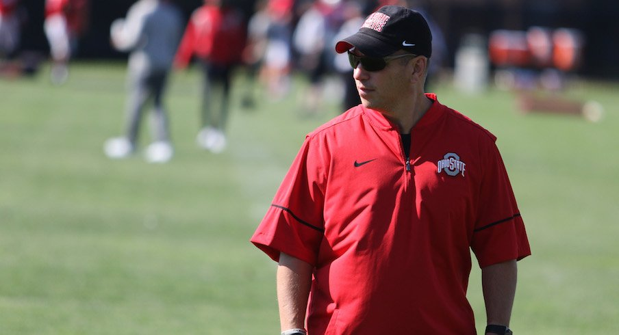 Ohio State strength and conditioning coach Mickey Marotti