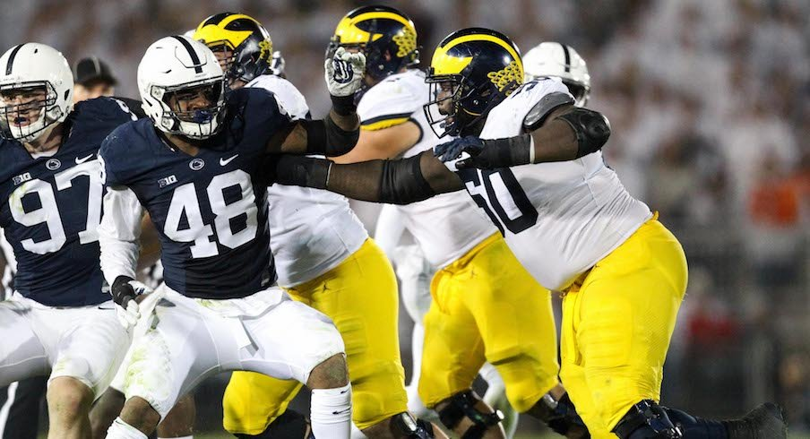 Penn State vs. Michigan in 2017