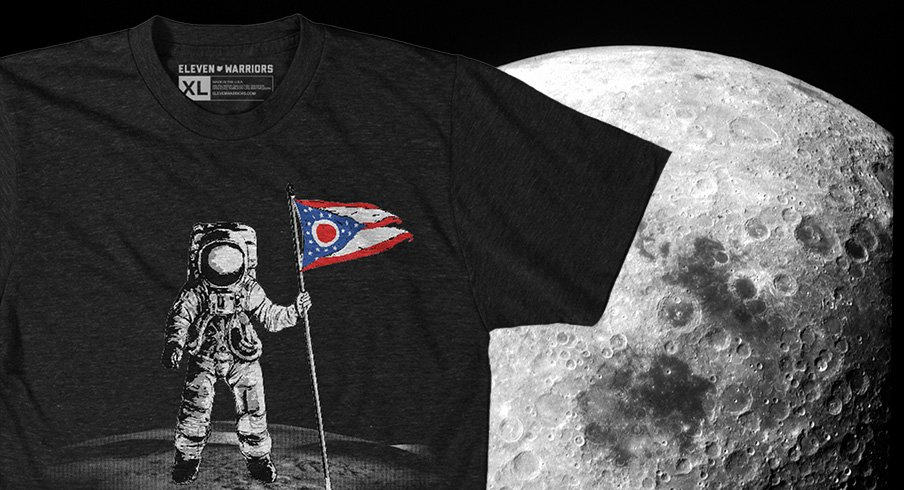 That's Ohio's Moon Tee from Eleven Warriors Dry Goods
