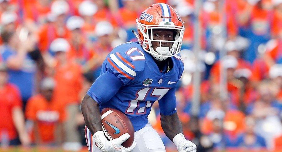 Florida receiver Kadarius Toney.