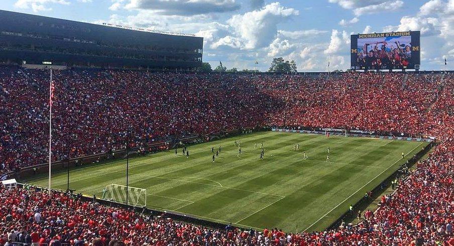 El Michigan Stadium.