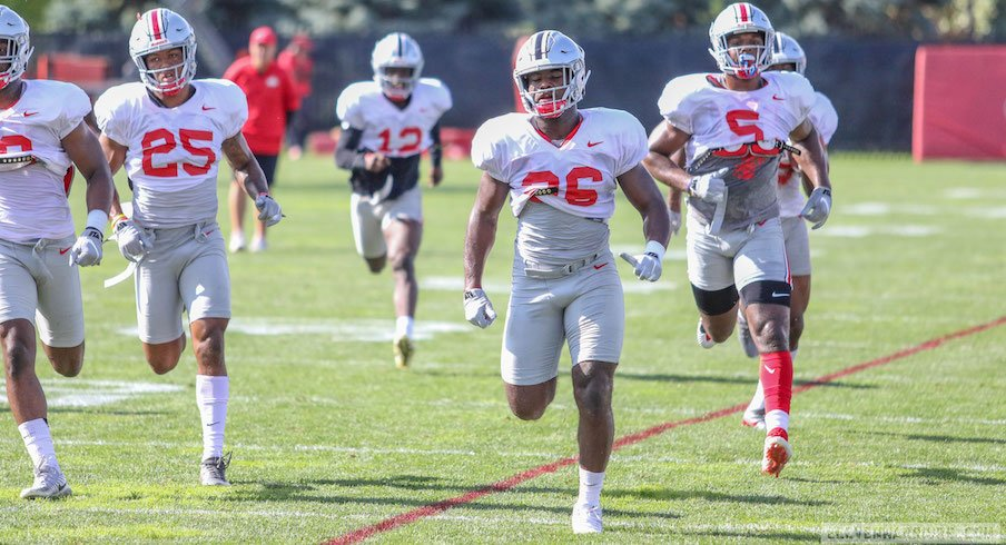 Highlights from Ohio State's Saturday practice.