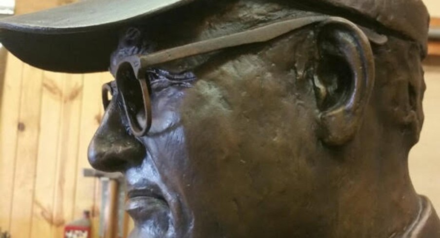 Woody Hayes is coming home