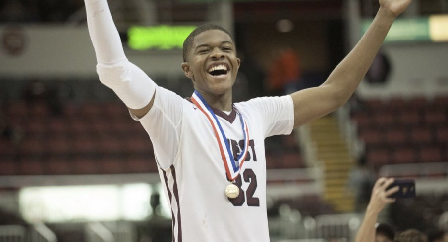 EJ Lidell has whittled his college choices down to five, a list that includes Ohio State.