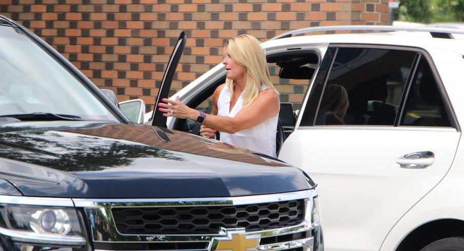 Shelley Meyer arrives on the scene.