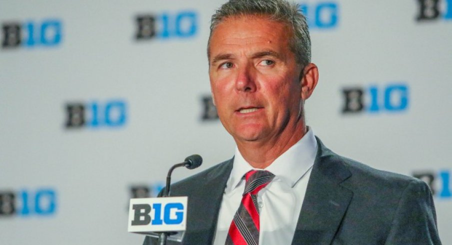 Ohio State has suspended head football coach Urban Meyer without pay for the first three games of the 2018 season.