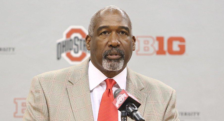 Ohio State athletic director Gene Smith