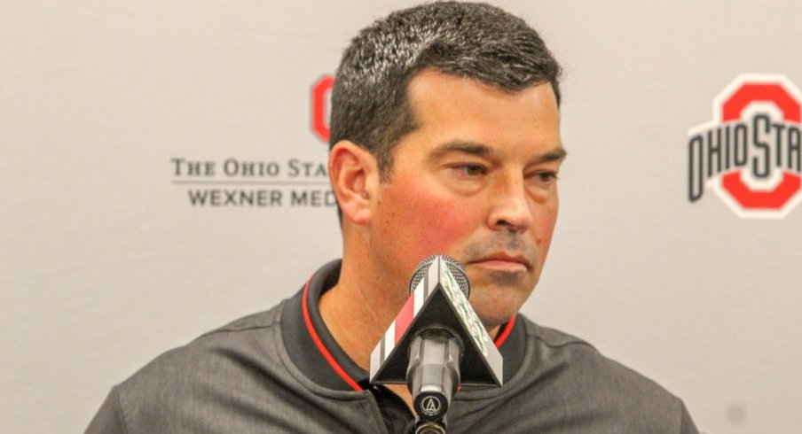 Ryan Day made it clear on Monday that Ohio State will once again rotate a ton of guys at receiver.