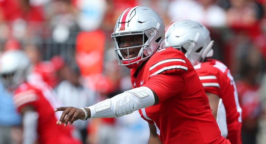 Dwayne Haskins had one of the best debuts of any Buckeye quarterback in history.