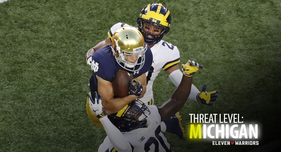 Michigan getting punked against Notre Dame