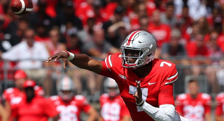Dwayne Haskins was named offensive player of the week.