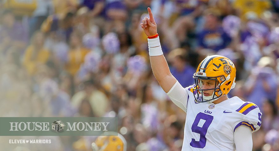 Joe Burrow and the Tigers face a tough test with a weekend trip to Auburn.
