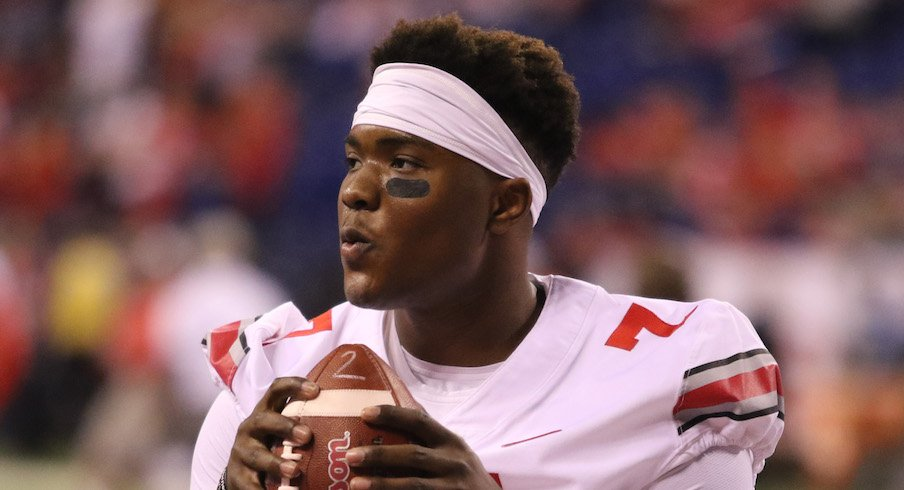 Dwayne Haskins is in the thick of the Heisman race.