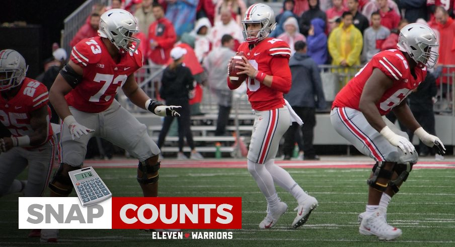 Snap Counts 79 Ohio State Players Take The Field In 52 3