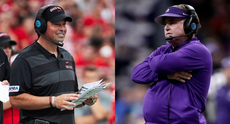 Ryan Day and Gary Patterson