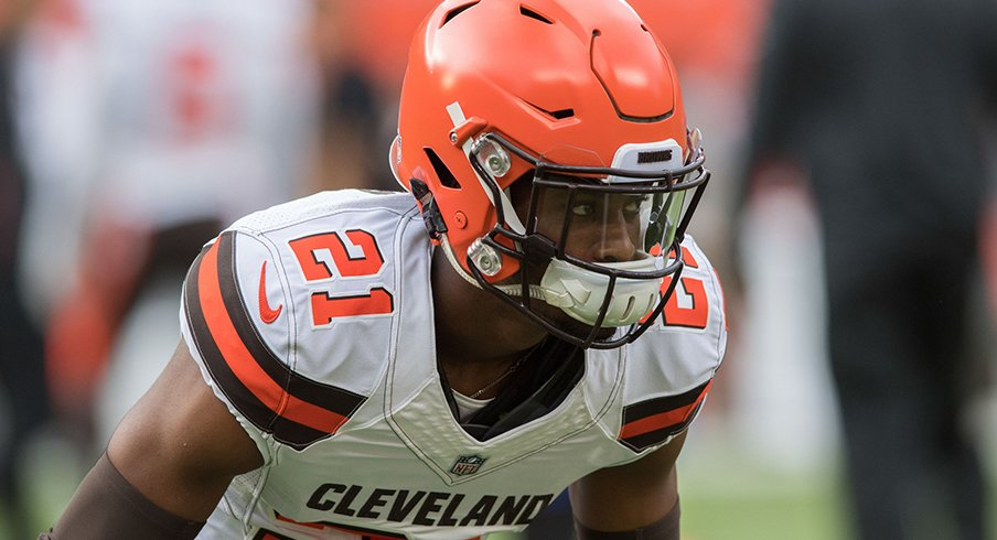 Denzel Ward just about ruined Ben Roethlisberger's weekend