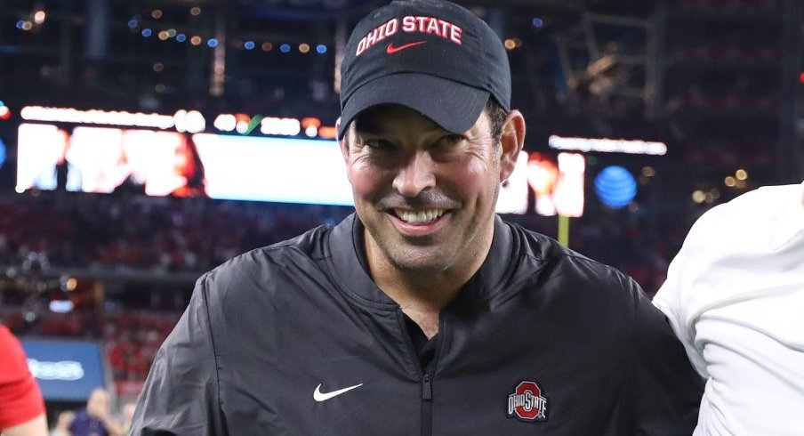 Ryan Day guided Ohio State to a 3-0 mark in Urban Meyer's absence.