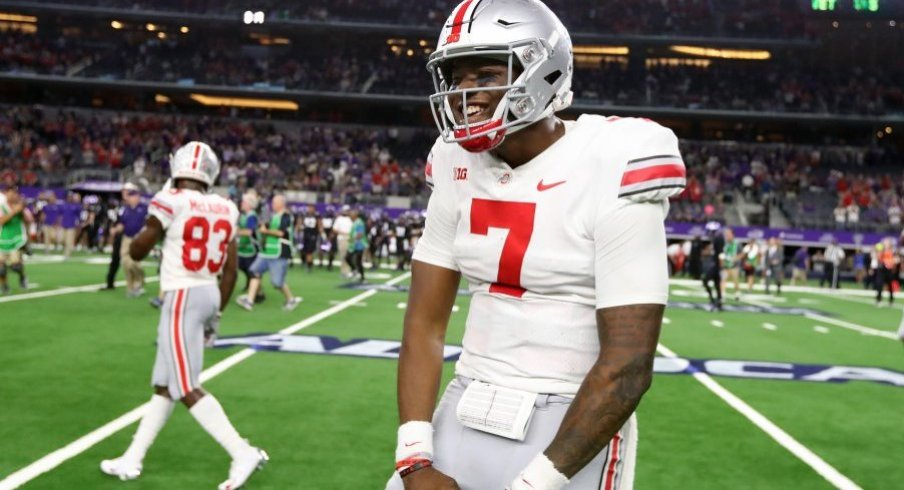 Dwayne Haskins threw for 344 yards and two touchdowns against TCU.