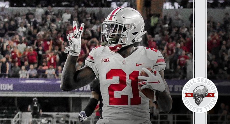 Parris Campbell says hey to the haters.