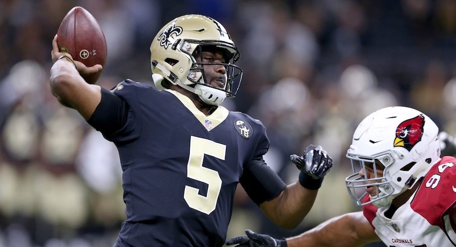 J.T. Barrett released from Saints practice squad