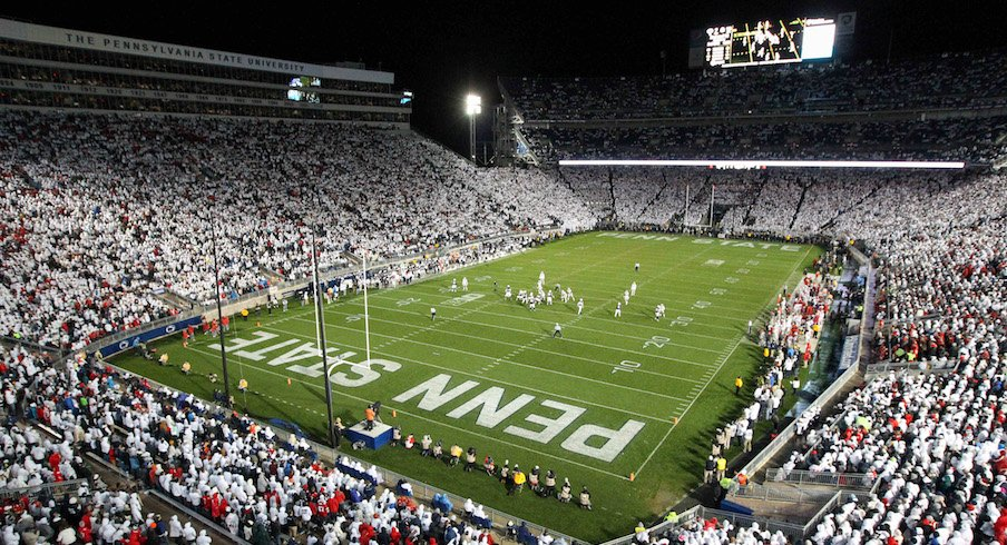 Beaver Stadium during Ohio State's 2016 game at Penn State.
