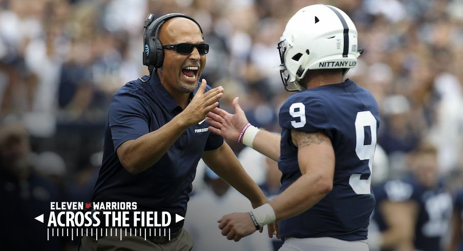 James Franklin and Trace McSorley