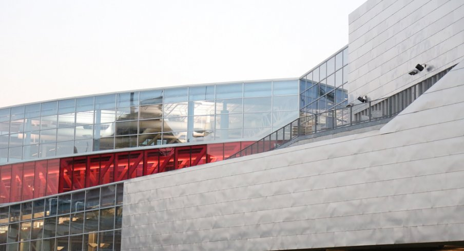 The RPAC and Scarlet Walkway in all its glory.