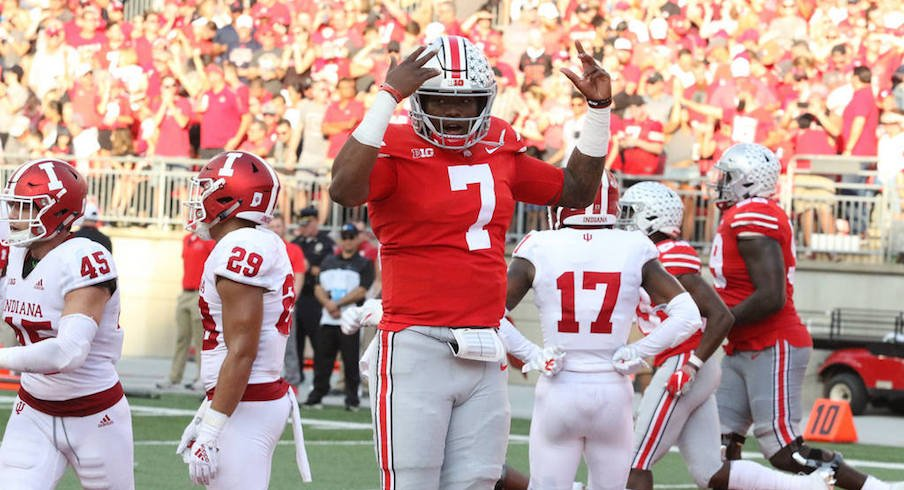 Dwayne HASKINS is the offensive player of the week.