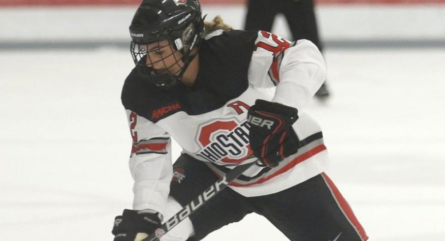 Ohio State's Maddy Field scored the game winning goal for the Buckeyes in their series finale against Minnesota State.