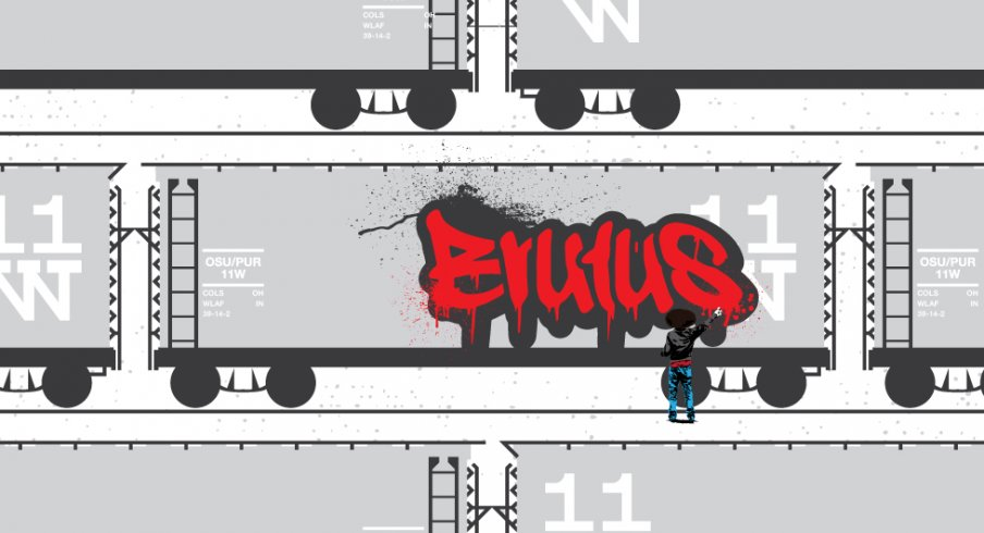 Brutus goes bombing in this week's Game Poster