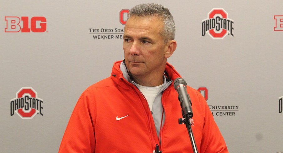 Urban Meyer took to the radio waves once again.