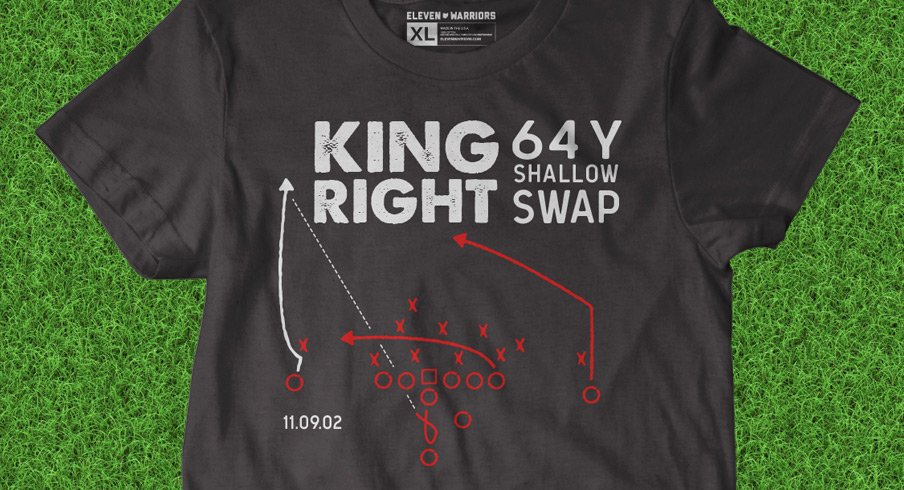 King Right 64 Y Shallow Swap Tee