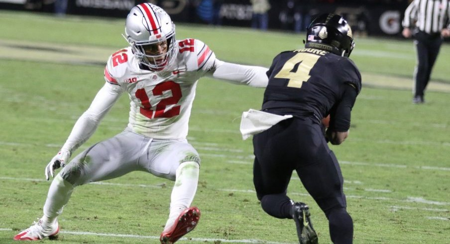 Rondale Moore schooled Isaiah Pryor and the rest of Ohio State's defense.
