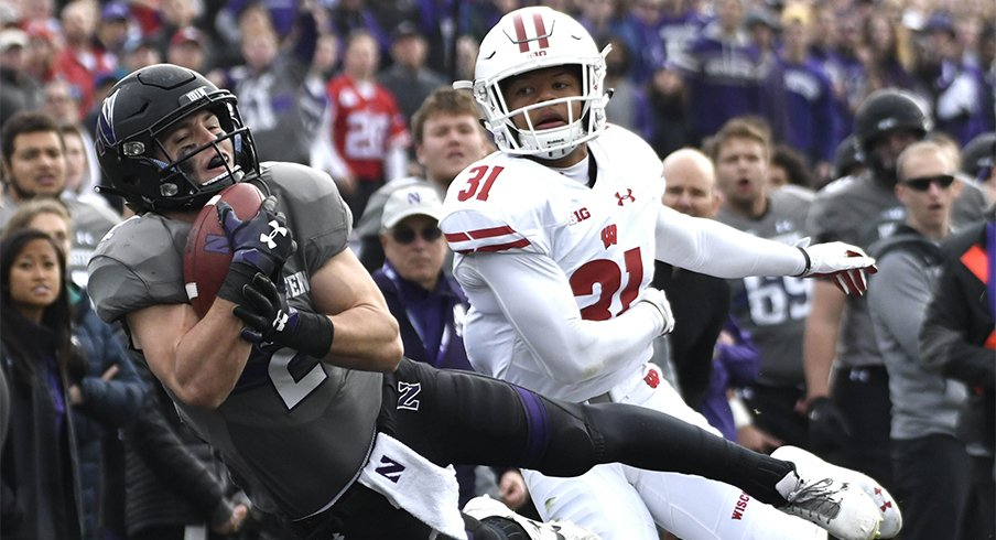 Northwestern got a signature win against Wisconsin this weekend and now sits atop the West.