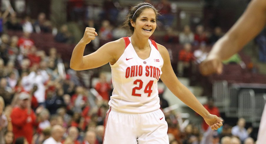 Ohio State Women's Basketball Defeats IUP, 72-50, In ...