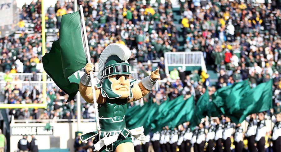 Sparty is ready to rumble.