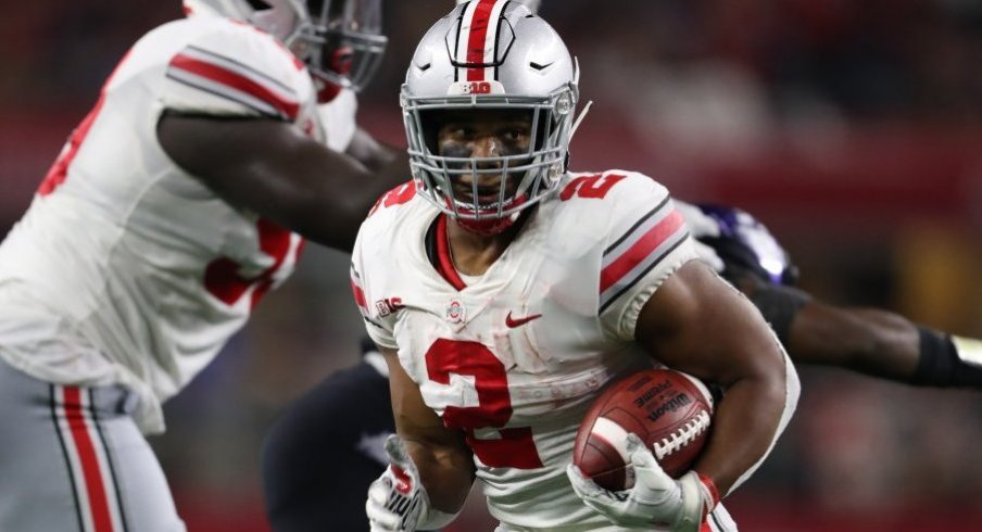 Ohio State needs a big game from J.K. Dobbins on Saturday against Michigan State.