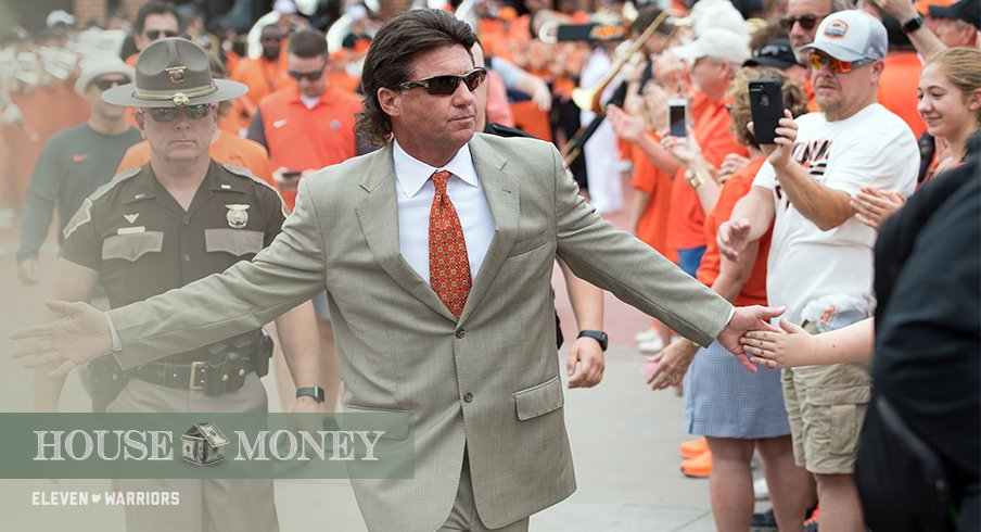 Mike Gundy and the Cowboys have their sights set on an upset in Norman.
