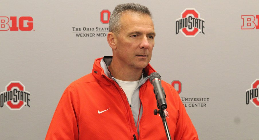 Urban Meyer previews Michigan State.