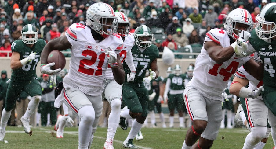 Parris Campbell vs. Michigan State in 2016
