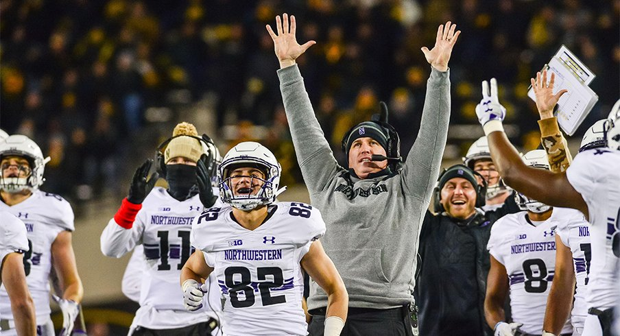 Pat Fitzgerald and the Wildcats clinched a spot in Indy.