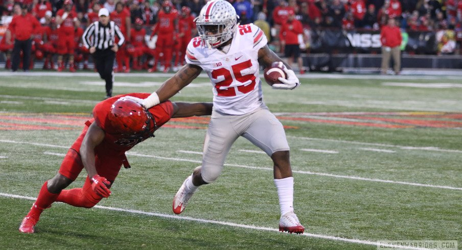Mike Weber vs. Maryland in 2016