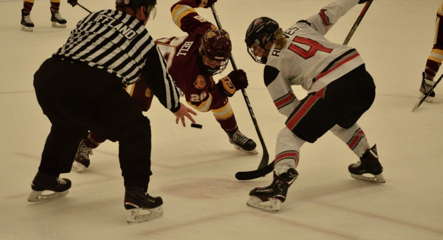Around the Oval: Women's Basketball Suffers Cancellations, Women's Volleyball Falls to the Golden Gophers, and Women's Ice Hockey Sweeps Minnesota Duluth