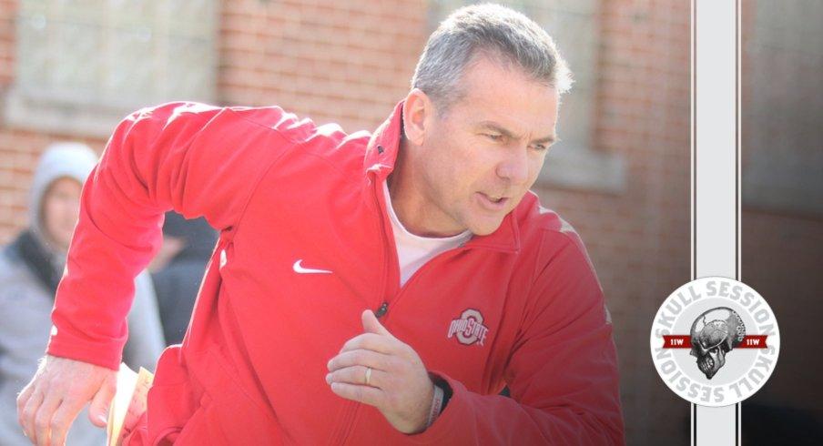 Urban Meyer running into rivalry week.